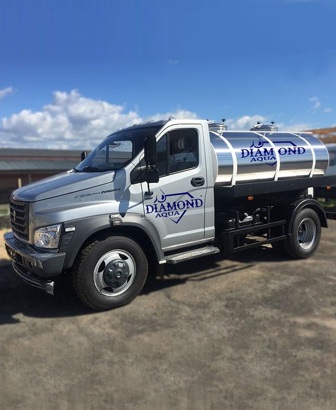 Доставка воды автоцистерной в Керчи