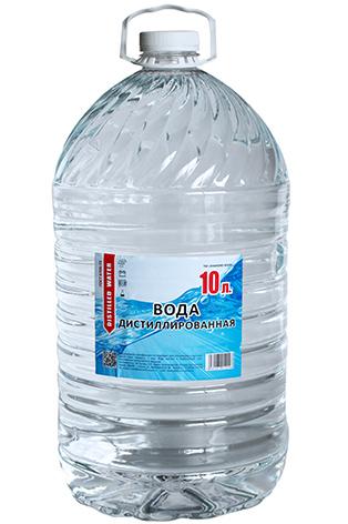Дистиллированная вода десять 10 литров