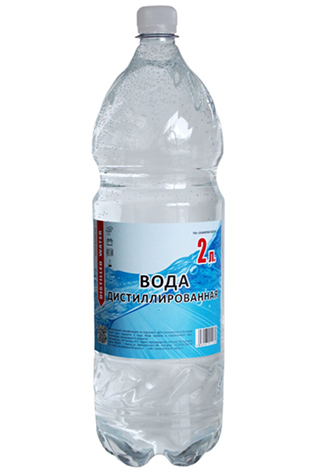 Дистиллированная вода два 2 литра